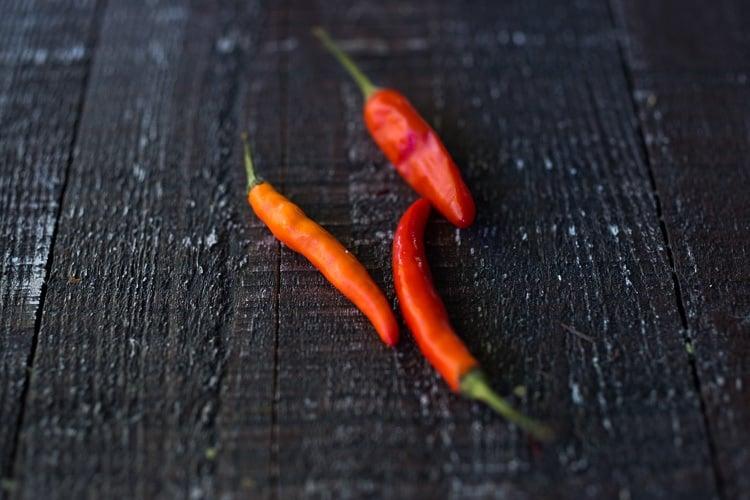 thai red chilies fresh