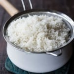 How to cook the fluffiest BASMATI RICE, the way they do in India! Flavorful light and fluffy! | #basmatirice #basmati #indianrice #indianrecipes