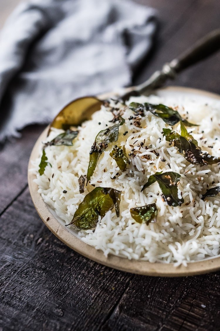 How to cook the fluffiest BASMATI RICE, the way they do in India! Flavorful light and fluffy! | #basmatirice #basmati #indianrice #indianrecipes #howtocookrice #rice #healthyrice #temperingoil #hindurecipes #hindurice