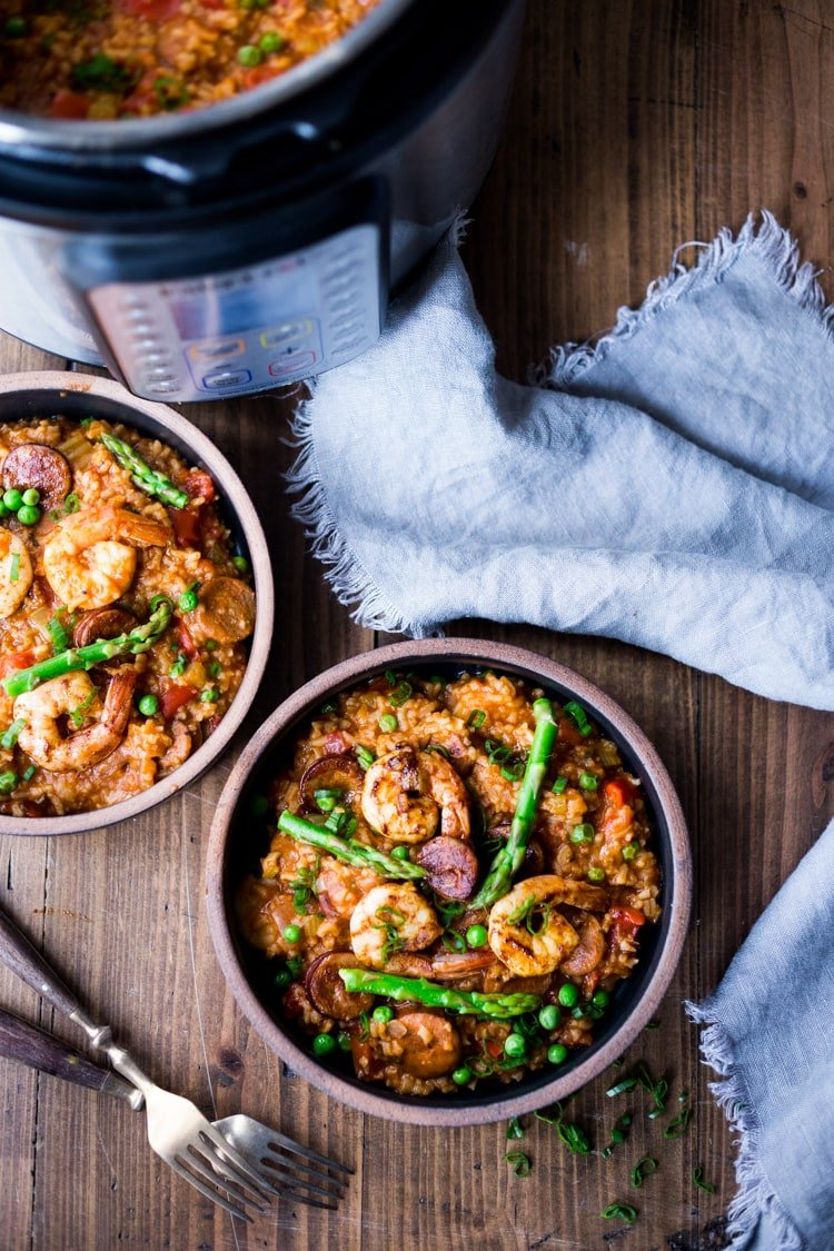 Our 25 Best Instant Pot Recipes! | Jambalaya! Delicious and easy, this can be made in an Instant Pot or on the Stove Top. Flavorful!!! #jambalaya #instantpot #bestjambalaya
