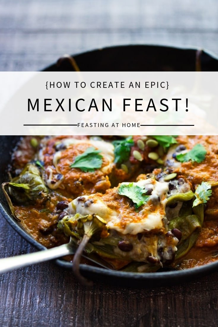 Browse my most popular Mexican Recipes to create your own Mexican Feast! Whether you are celebrating Cinco De Mayo, or having a simple gathering at home, these authentic, flavorful recipes are fun to make, and include many vegan and Gluten-Free options! Pick out a few for your next gathering or potluck!