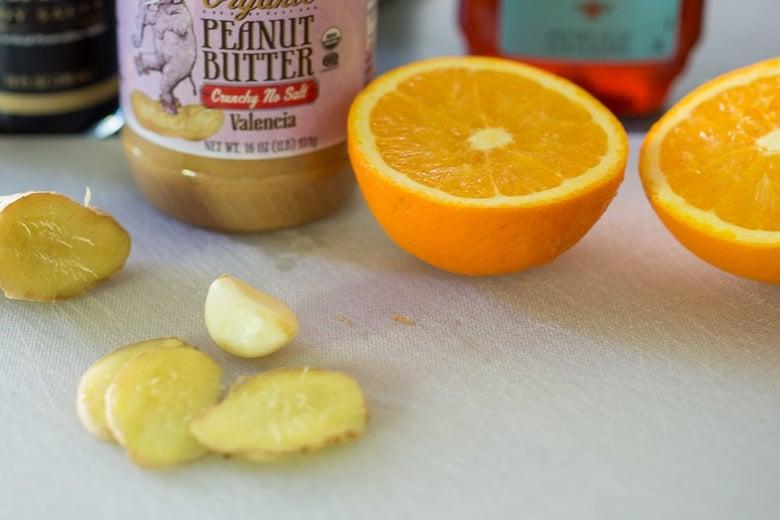 ingredients in peanut sauce