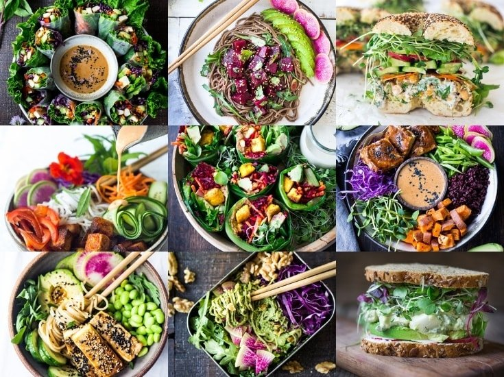 25 Delicious Healthy Lunches