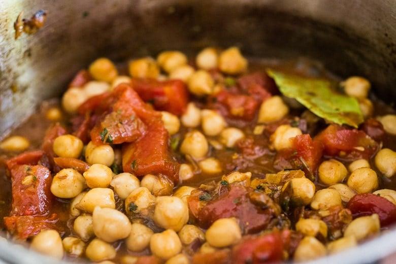 instant pot chana masala recipe