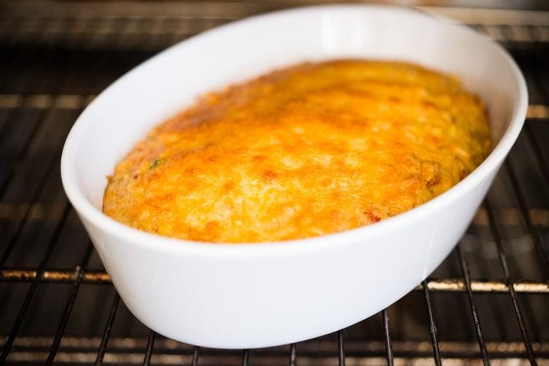 Baked cornbread casserole