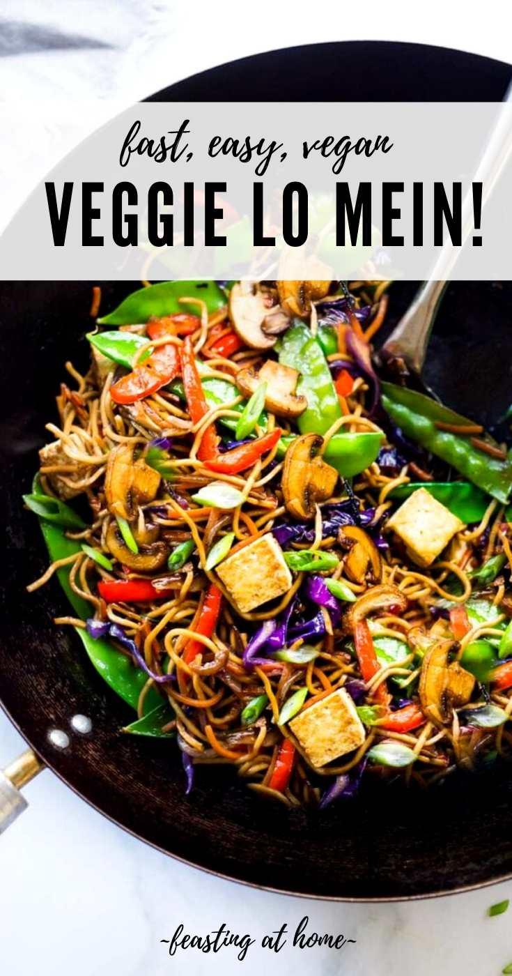 Veggie Lo Mein Noodles!