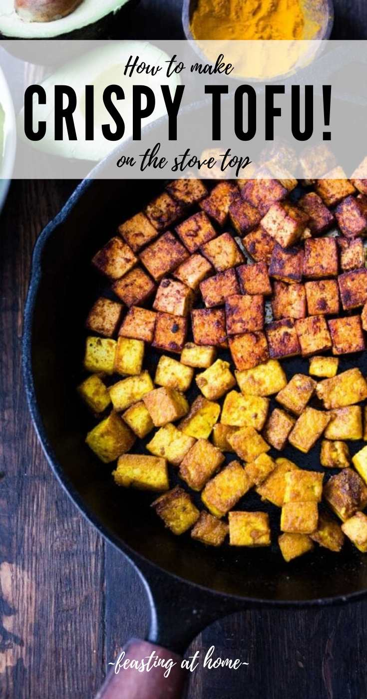 Simple Crispy Tofu