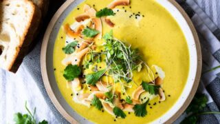 Curried Cauliflower Soup Feasting At Home