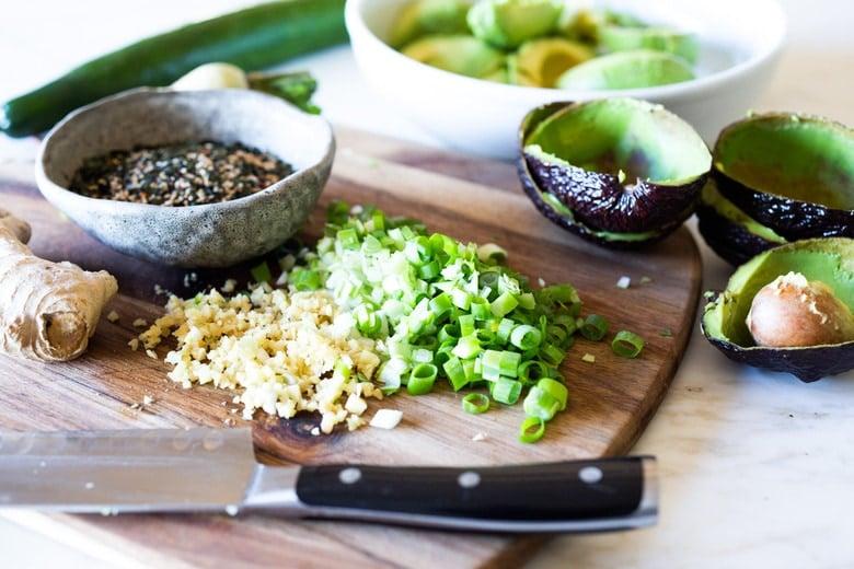 Furikake Guacamole