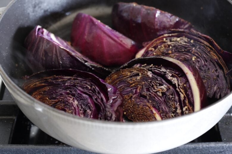 Melted cabbage