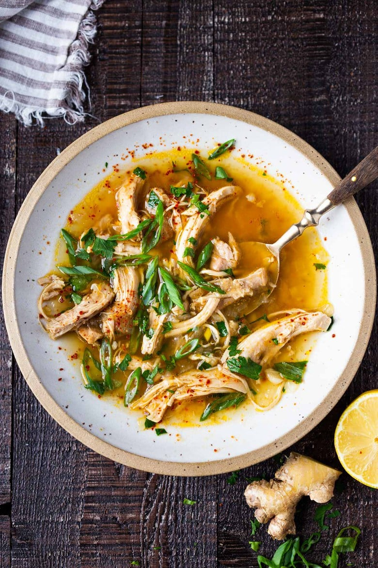 Feel Better Chicken Soup Recipe Feasting At Home