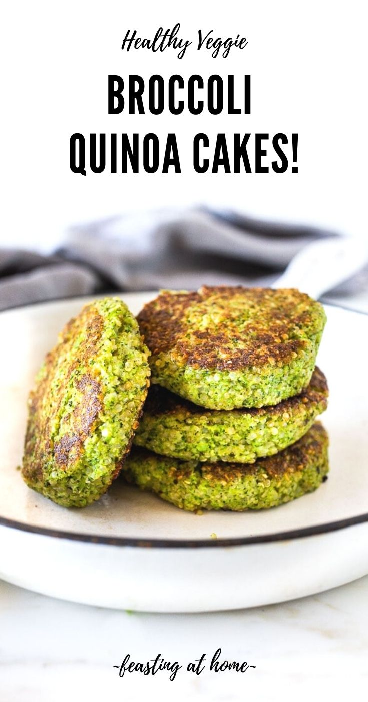 Broccoli Quinoa Cakes!