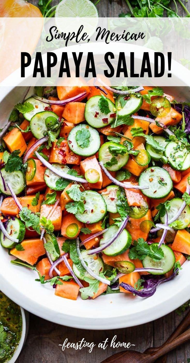 Mexican Papaya Salad