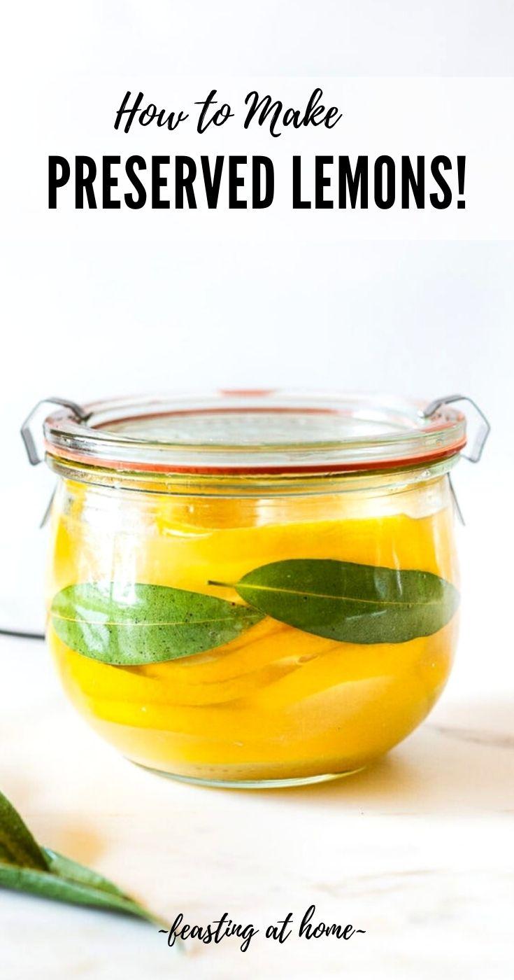 How to make Preserved Lemons!