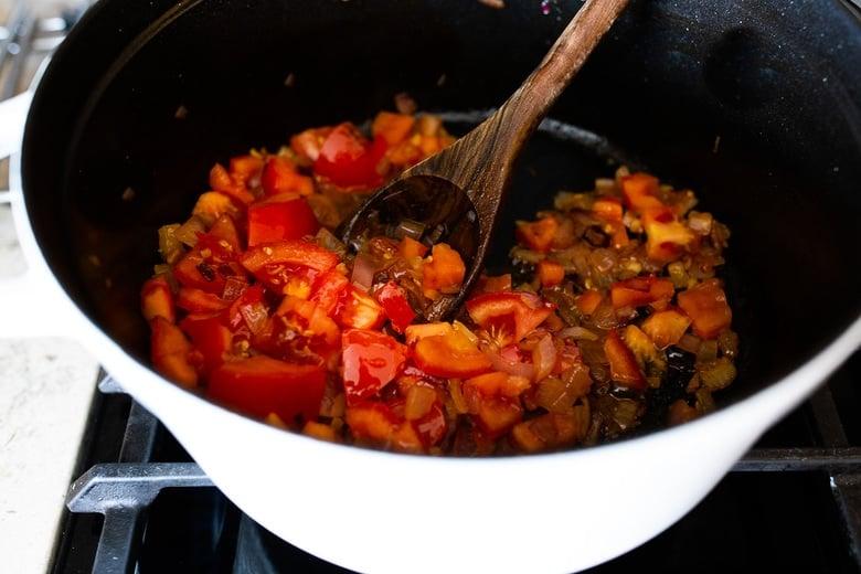 how to make Portuguese Fish Stew (aka Caldeirada)