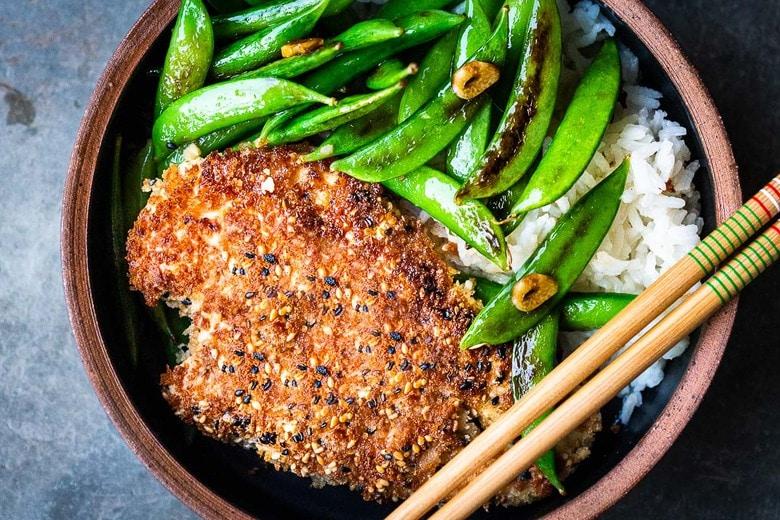 Chicken Katsu Or Tofu Katsu Feasting At Home