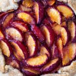 A simple recipe for Plum Galette with Buckwheat Crust with a hint of cardamon. A light and delicious summer dessert.