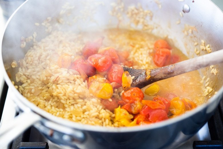 how to make tomato risotto