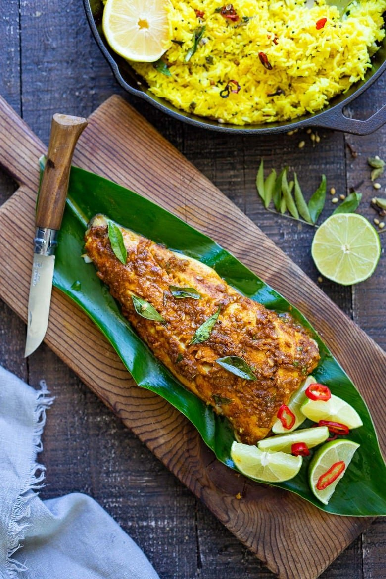 Kerala Style Fish Feasting At Home