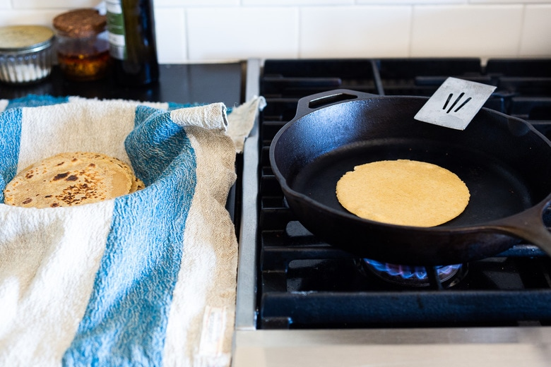 how to make corn and flour tortillas!