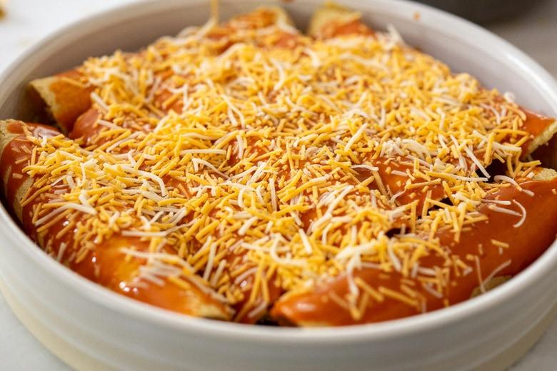 cheese for enchiladas