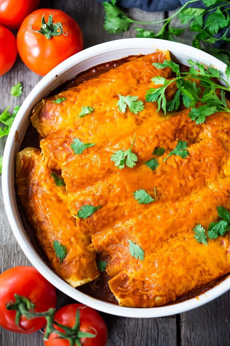 Simple Chicken Enchiladas Feasting At Home