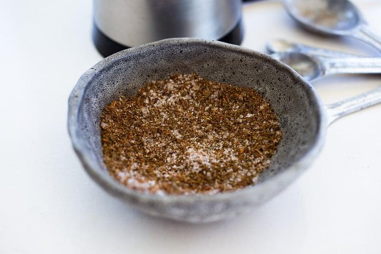 five spice rub for chicken tor tofu.