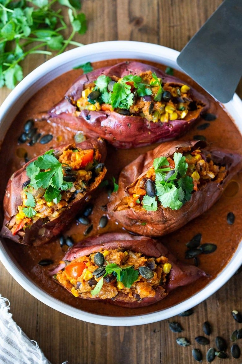 Oaxacan Baked Sweet Potatoes Feasting At Home