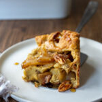 A simple recipe for Pannekoeken, a baked apple pancake hailing from the Netherlands, this version is infused with cardamom and nutmeg and puffs up dramatically in the oven. A delicious weekend breakfast or brunch.