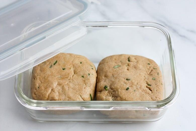 refrigerate the sourdough dough