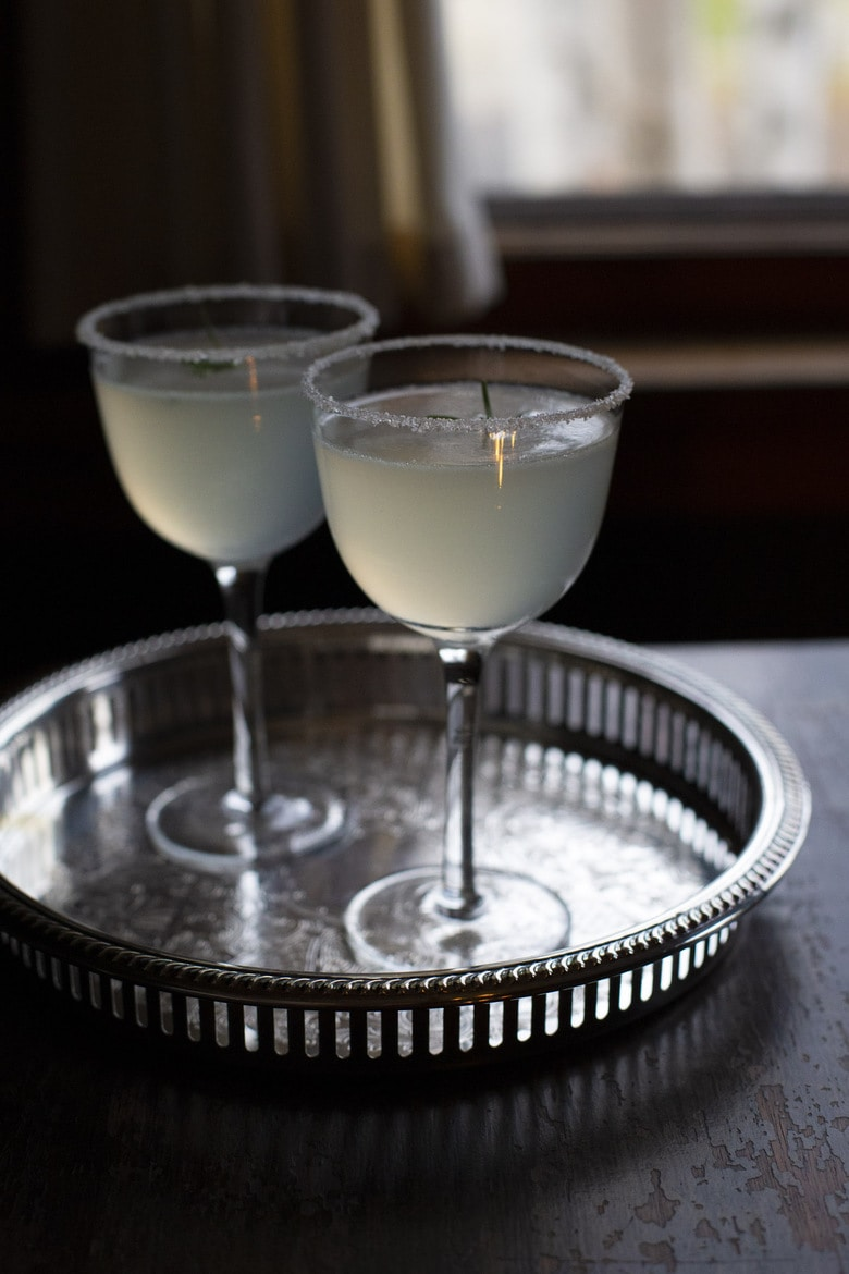 Get festive with a Pear Tree Cocktail. Perfumed pear, backed by evergreen notes of rosemary and juniper - a cocktail that is both unique and utterly evocative of the winter holidays!