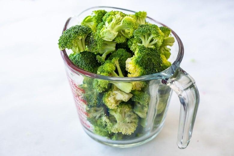 12 ounces broccoli (6 cups)