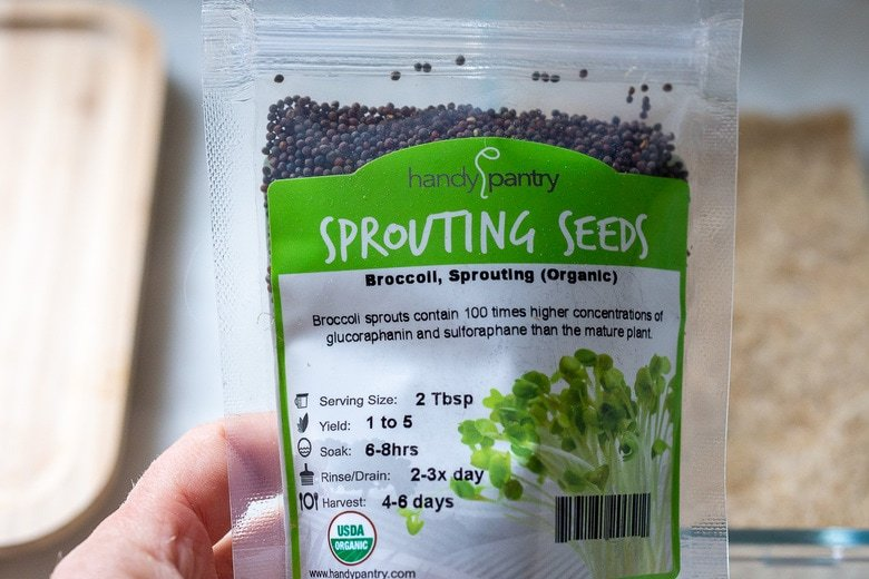 sprouting broccoli seeds have the highest nutrient levels and health benenifits