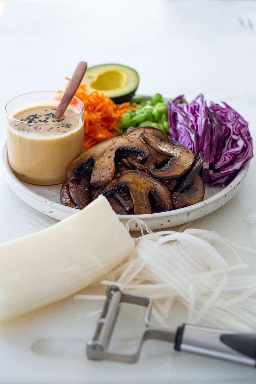 prep the fresh veggies