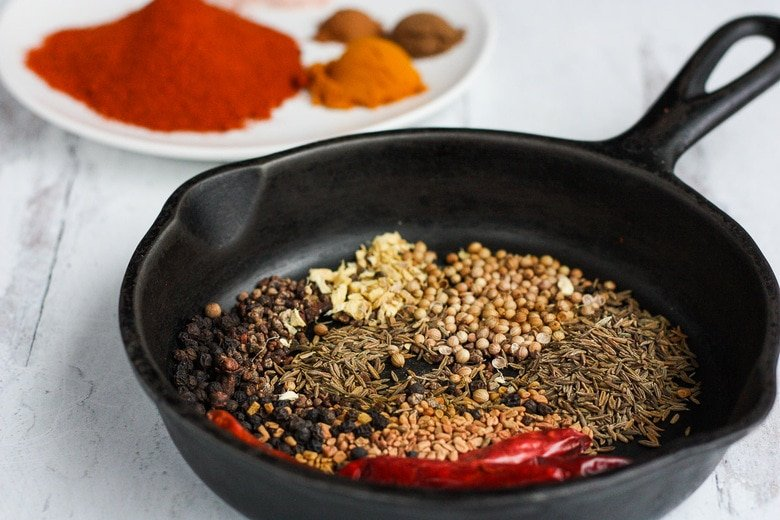 How to make Berbere Spice. Toasting the spices amplifies the flavors.