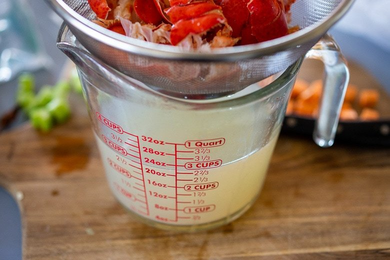 homemade lobster tail stock