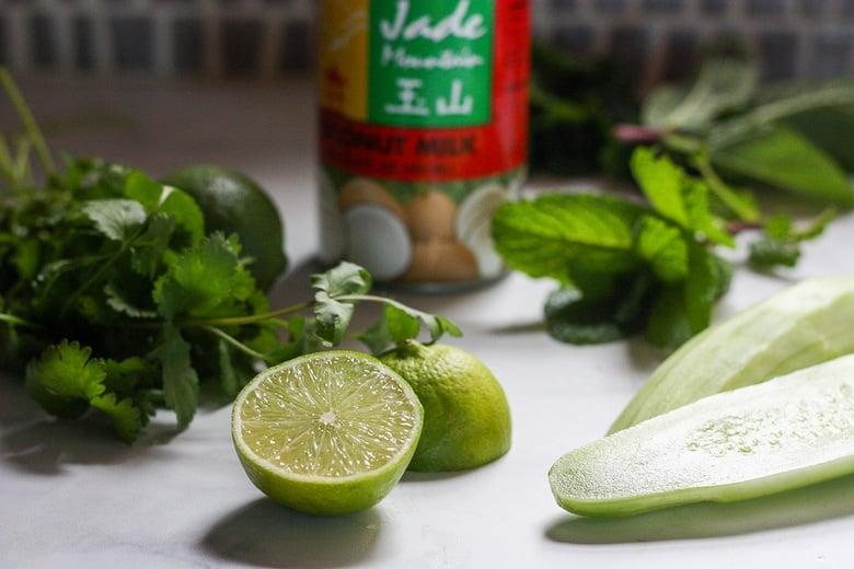 prep the sauce ingredients.