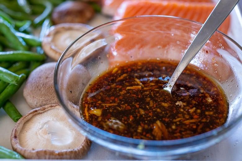 make the Szechuan sauce