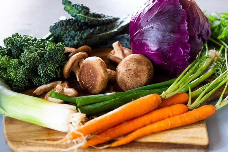 veggies to use in fried rice