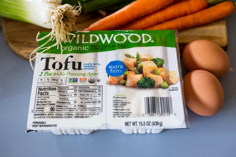 to make vegan fried rice, try scrambling tofu.
