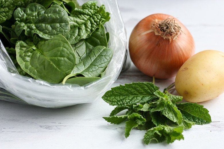 ingredients in Spinach soup