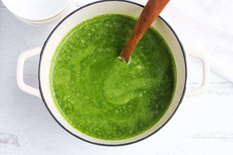 blended soup