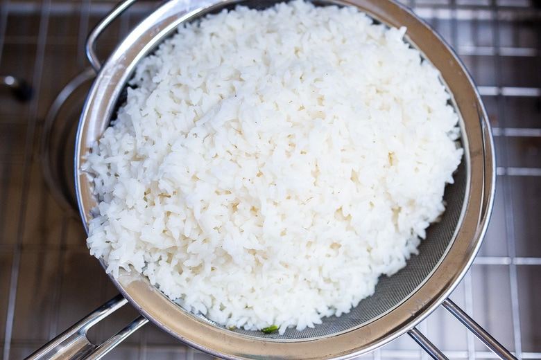 make rice at the same time as the curry