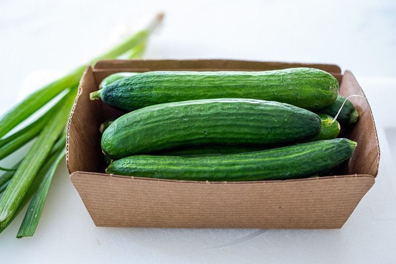 types of cucumber to use in cucumber salad