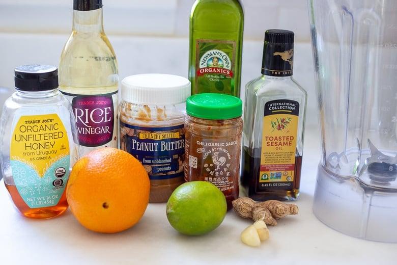 ingredients in Peanut dressing