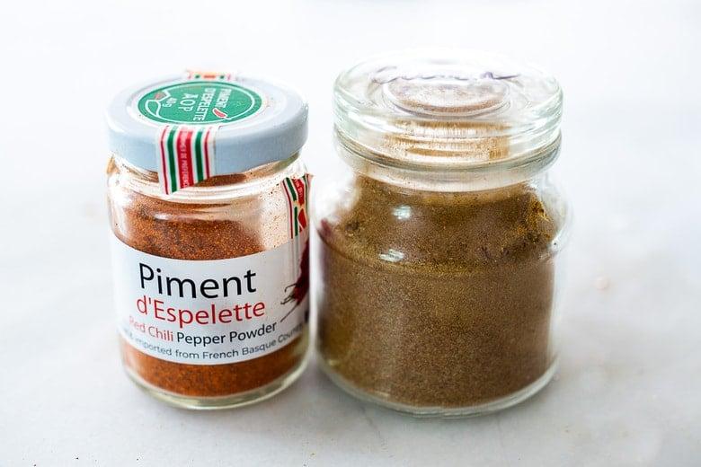 cumin and piment d' espelettte elevate gazpacho