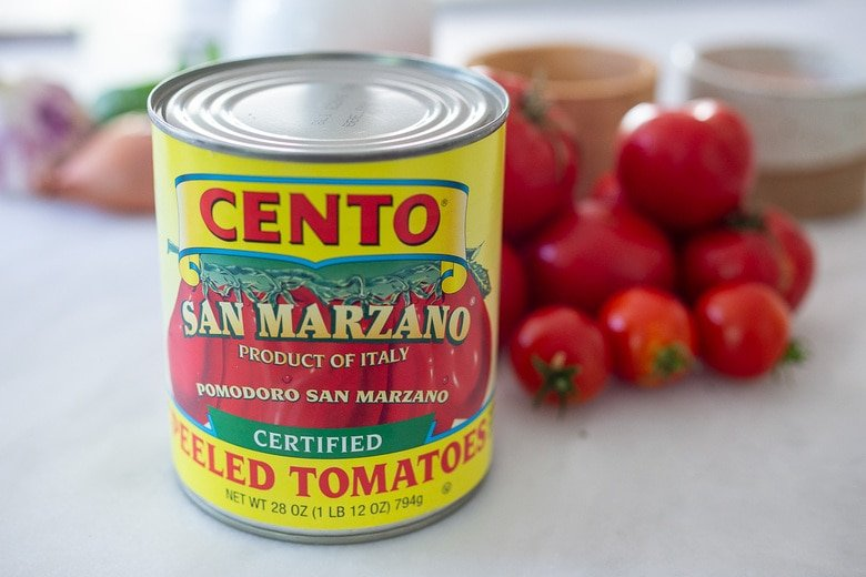 use canned tomatoes or fresh tomatoes