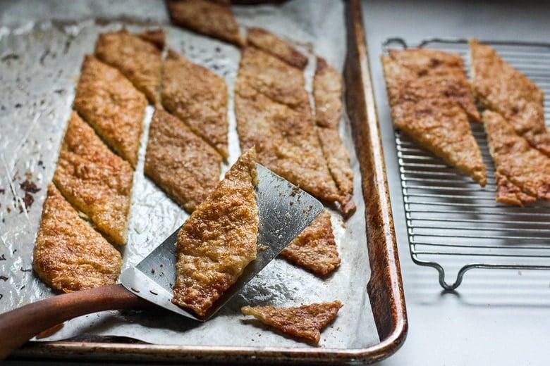 baked pie crust cookies