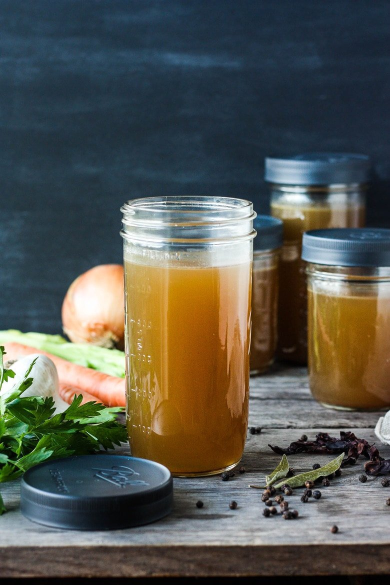 Learn the secret to adding depth and flavor to your homemade vegetable broth (or vegetable stock). These EXPERT TIPS will truly elevate!